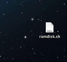 Ramdisk script