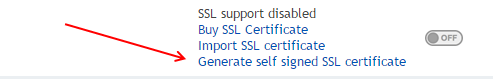 generate-self-signed-ssl-certificate