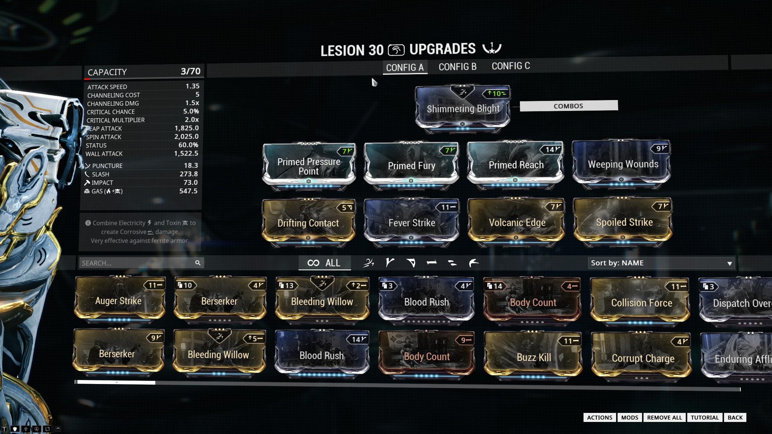 Lesion Build